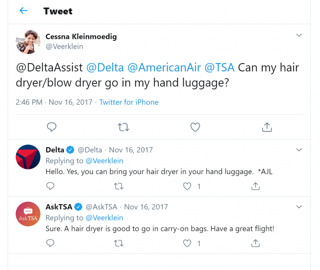 Can you bring a hairdryer on a plane?