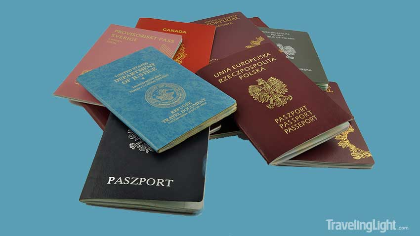 Where And What Is The Passport Book Number